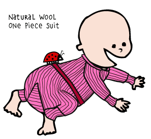 Wool One Piece Suit