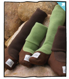 Wool Babywearing Booties